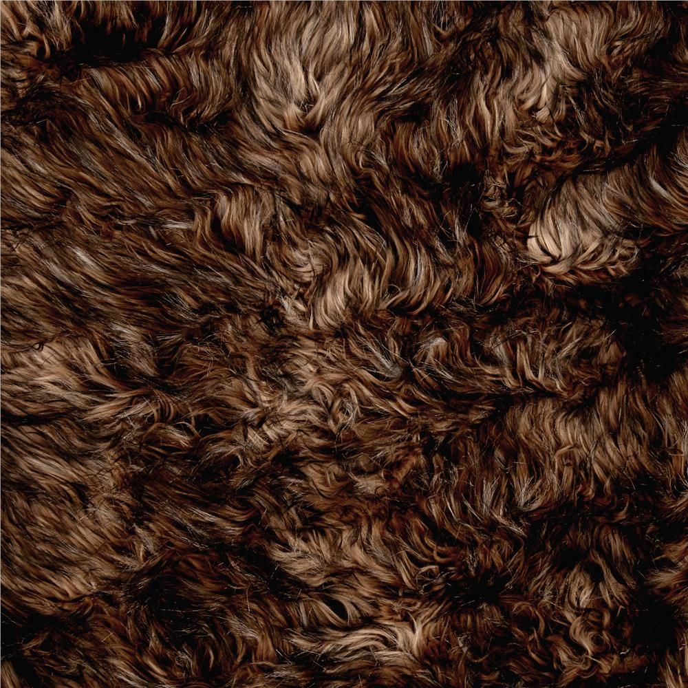 Faux Fox Fur Brown/Tan from @fabricdotcom  Spoil yourself with this exquisite long hair faux fabric. From Shannon Fabrics, this fur has an alternating 2'' to 3'' pile, a luxurious hand and a soft subtle sheen just like the real thing! Make gorgeous jackets, coats, wraps, fashion accessories, pillows, throws and more!
