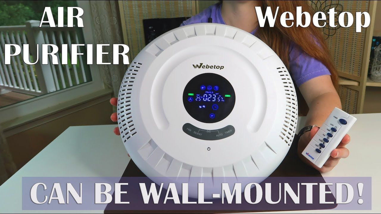 Webetop Air Purifier🍀 WallMounted or Floor 6in1 REVIEW