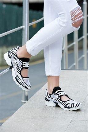 Zebra Spor Ayakkabı Velina Rahat Ve Güzel Spor Ayakkabılar