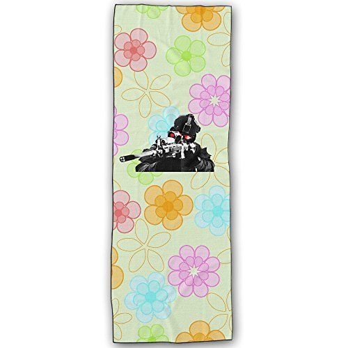 POYSAIN Call Of Duty Shoot Yoga Towel Mat SizeOne Size White -- Check out this great product.