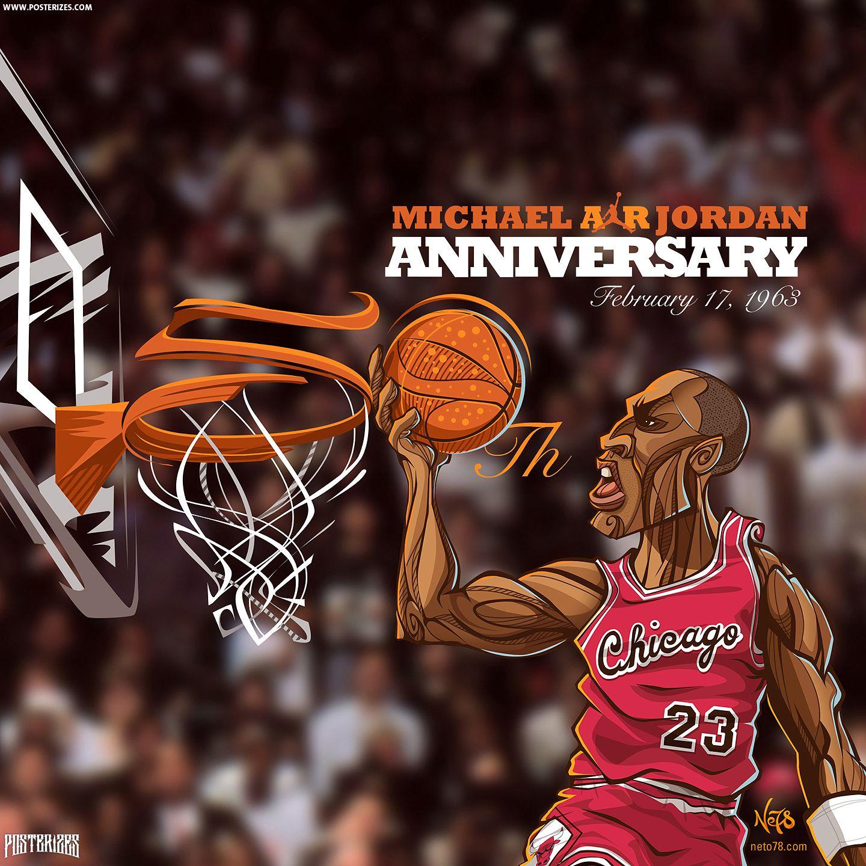 Michael Jordan 50th Wallpaper NBA