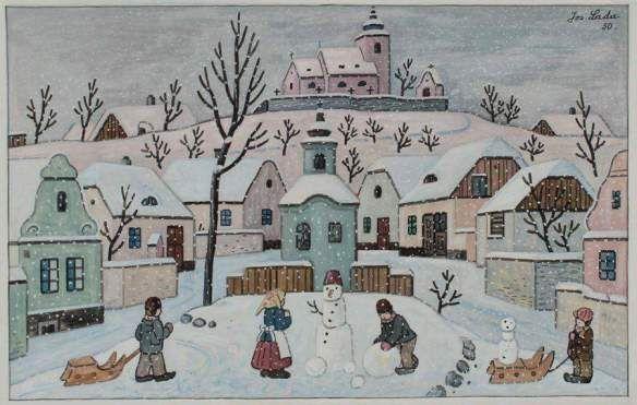 Zimy Z Davna Od Josefa Lady Jozef Lada Pinterest Art
