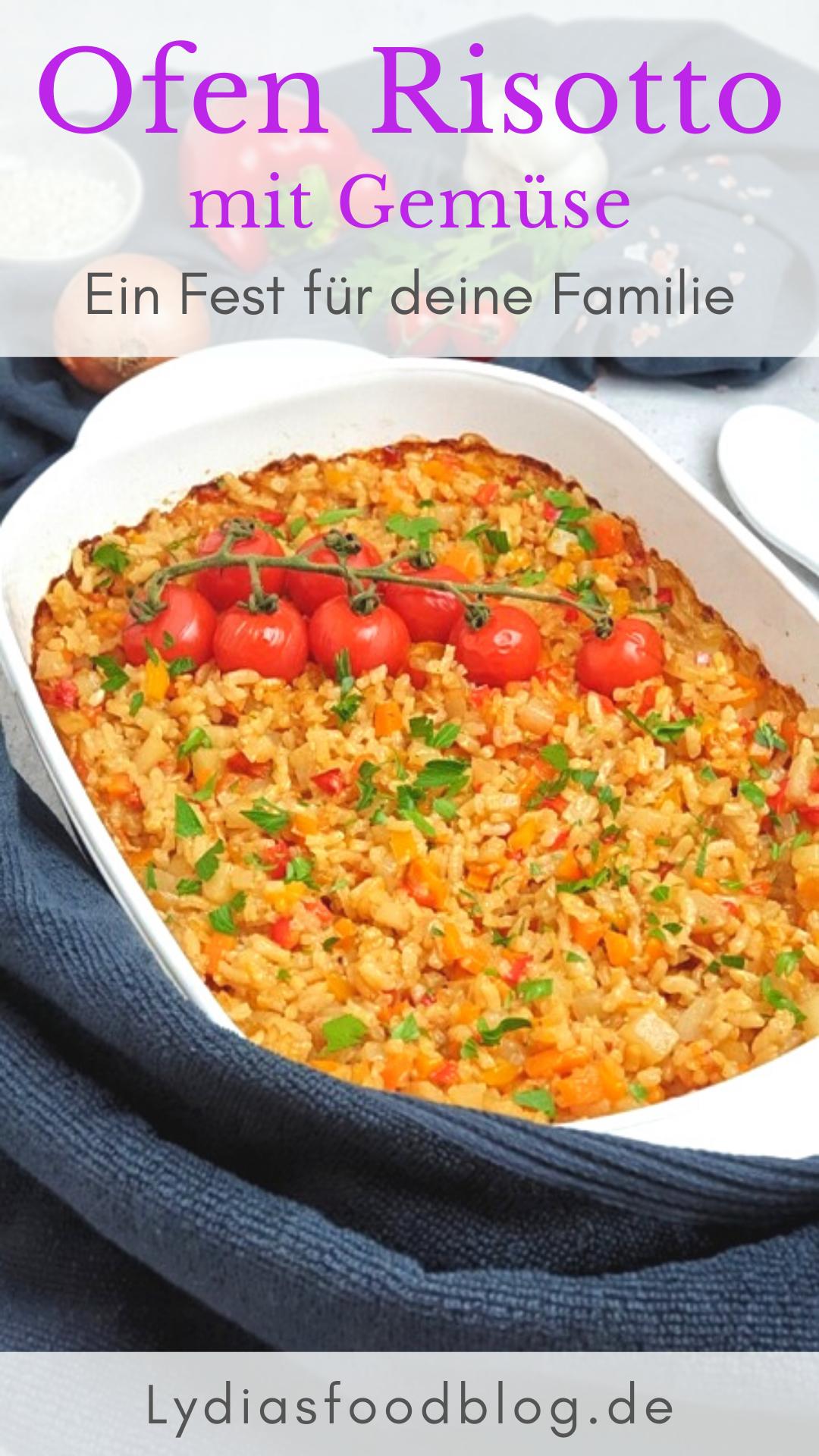 Dieses einfache Risotto mit Gemüse aus dem Backofen ist eine leckere und einfache Beilage für deine Lieben Damit kannst du Groß und Klein begeistern probi...