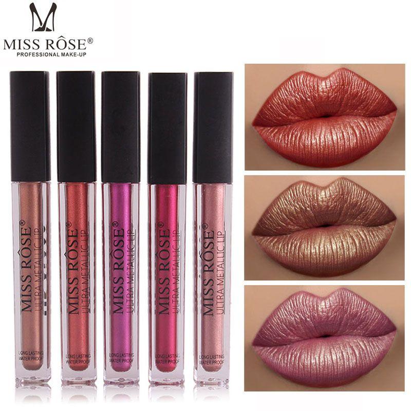 MISS ROSE Matte Liquid Lipstick Waterproof Long Lasting
