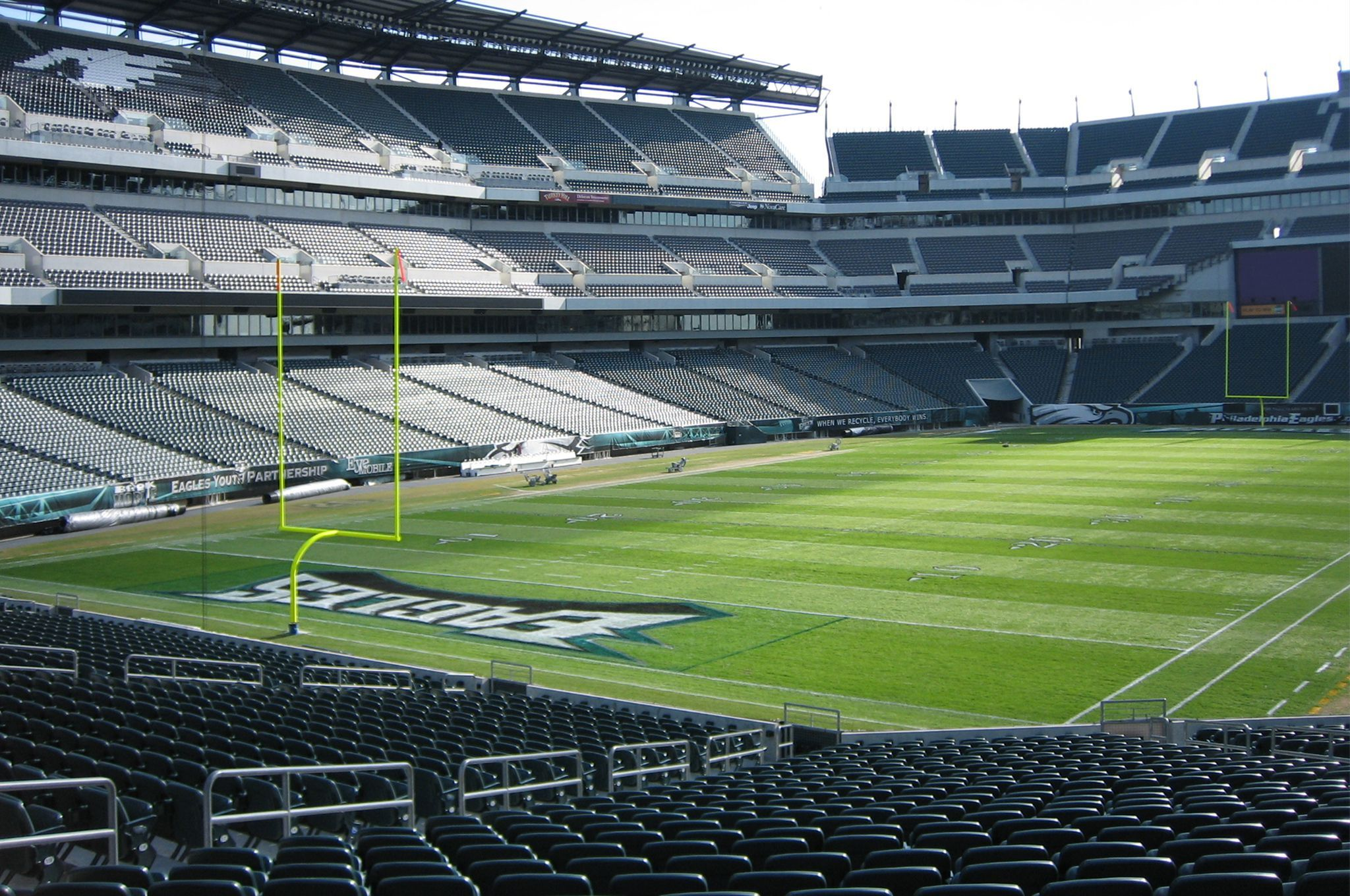 The Philadelphia Eagles Are Driving The Nfl Toward A Greener Future In 2020 Lincoln Financial Field Philadelphia Eagles Football Philadelphia Eagles