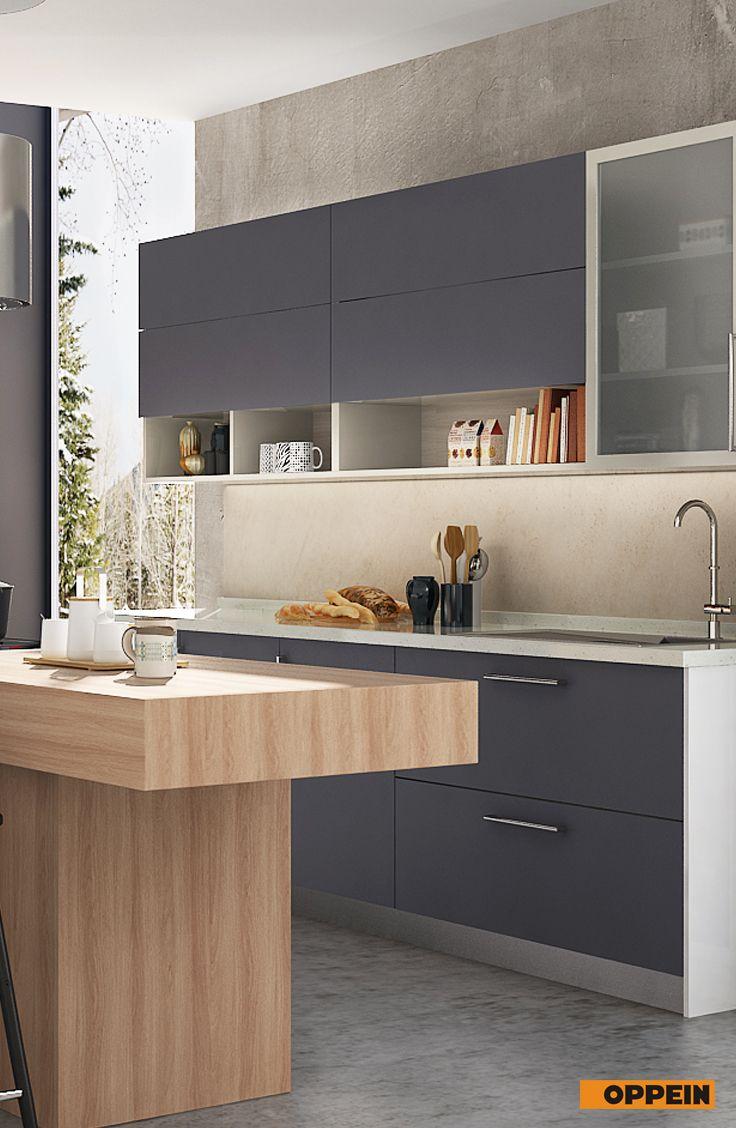 Best 360Cm Width Standard Kitchen Cabinet With Gray Melamine 400 x 300