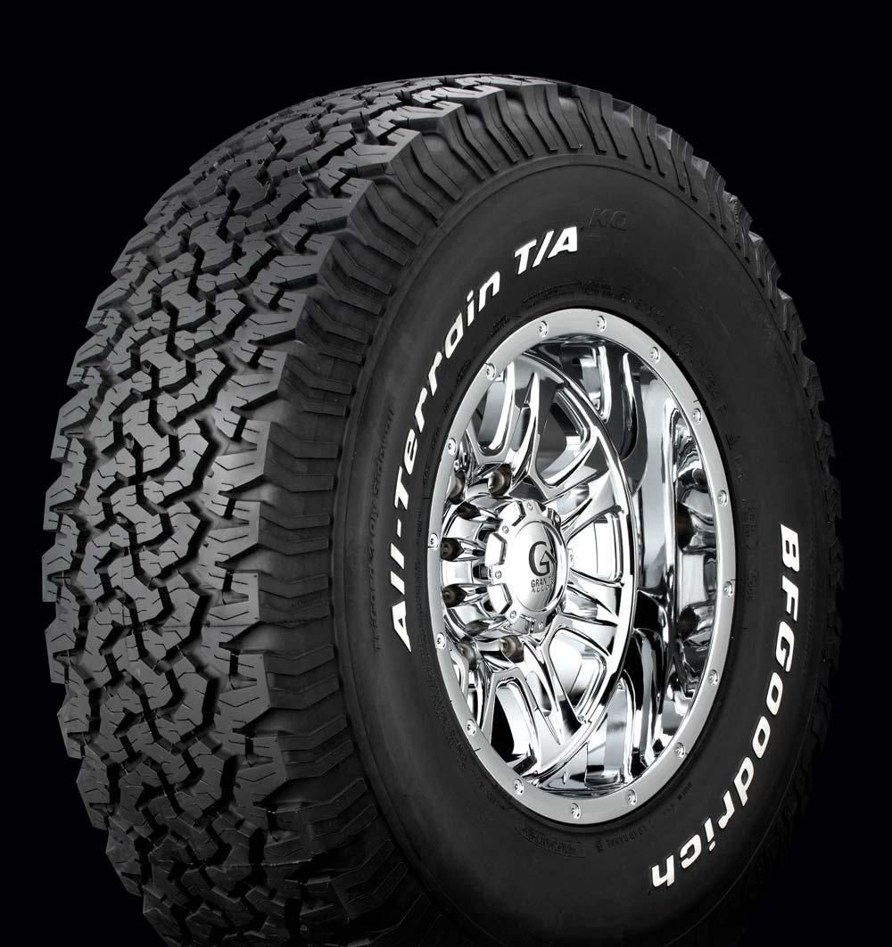 Bfgoodrich All Terrain Tyres Cars All Terrain Tyres Rims Tires