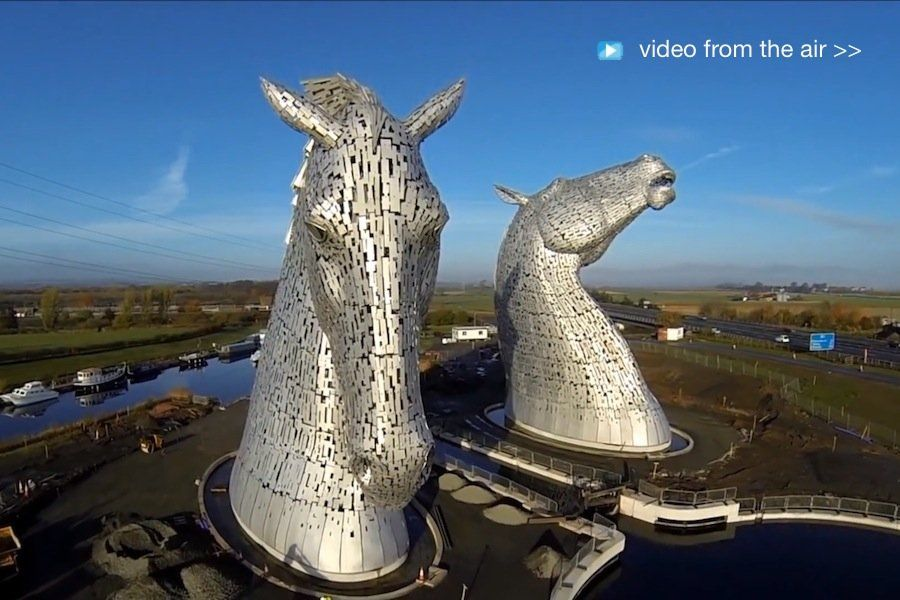 The Kelpies Directions: From Edinburgh - take the M9 ...