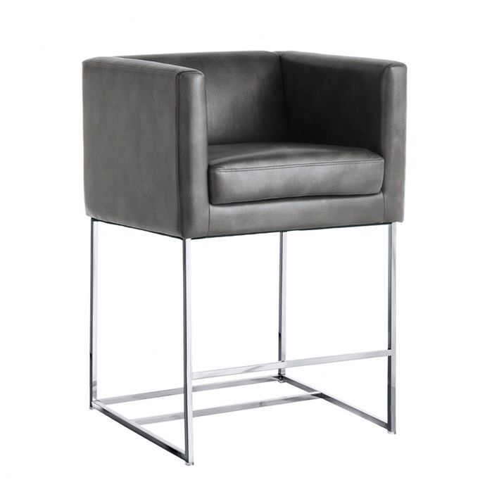 "Lieber 26"" Bar Stool with Cushion"
