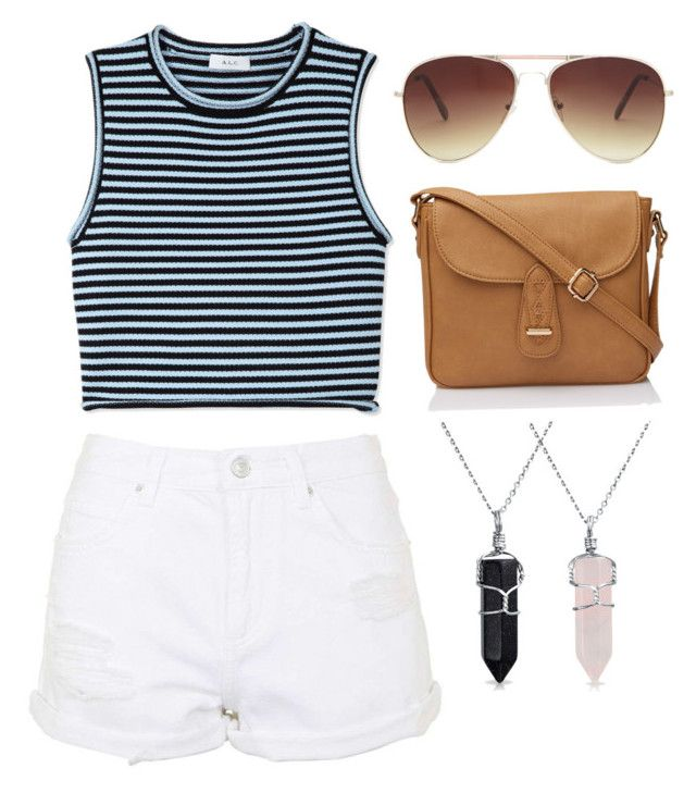 """""""Untitled #10"""" by audreytaylorb-1 on Polyvore featuring A.L.C., Topshop, Forever 21 and Bling Jewelry"""