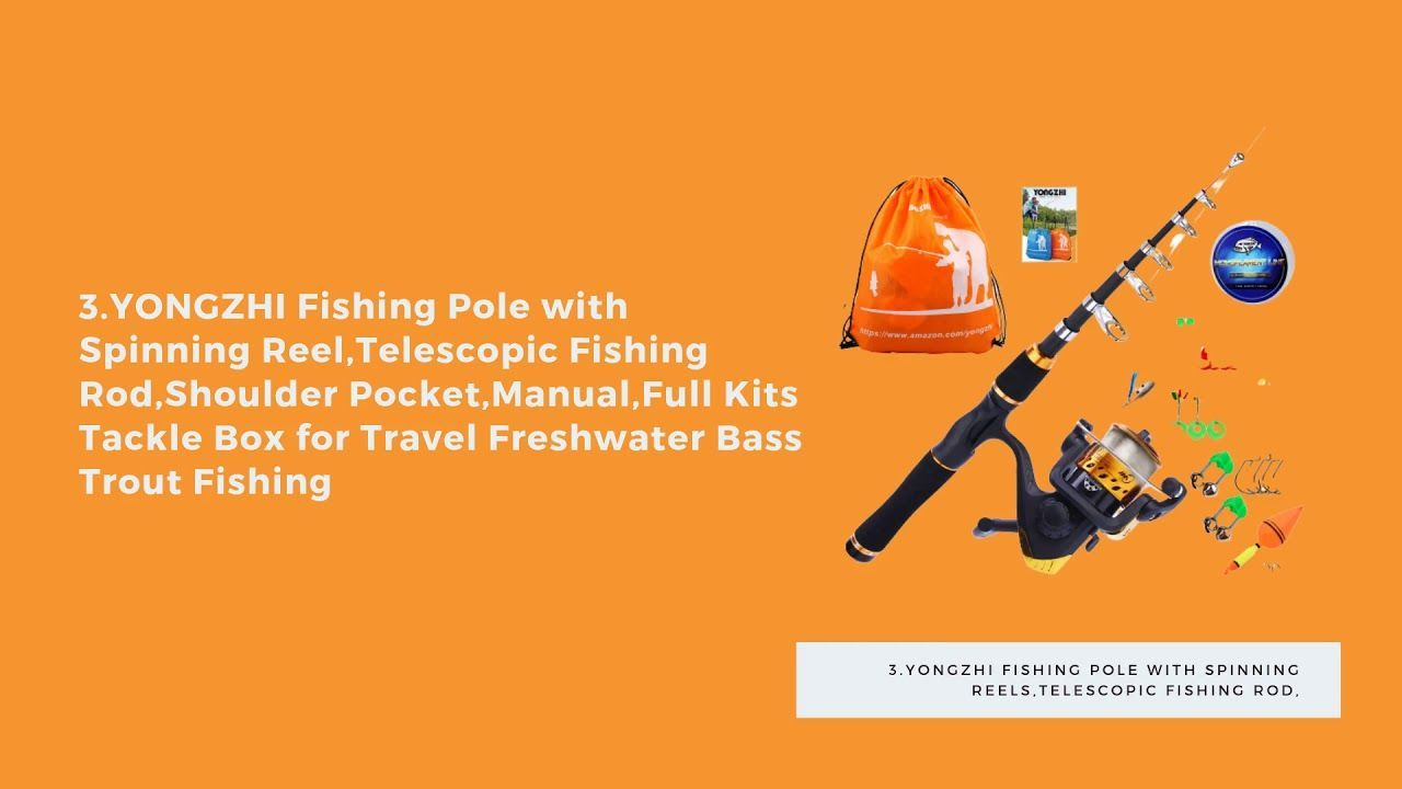 TOP 5 Best Telescopic Fishing Rods and Combos -  TOP 5 Best Telescopic Fishing Rods and Combos  - #Bowfishing #combos #fishing #FishingLures #FishingQuotes #FishingRods #FishingTackle #FishingTricks #KayakFishing #Rods #telescopic #Top