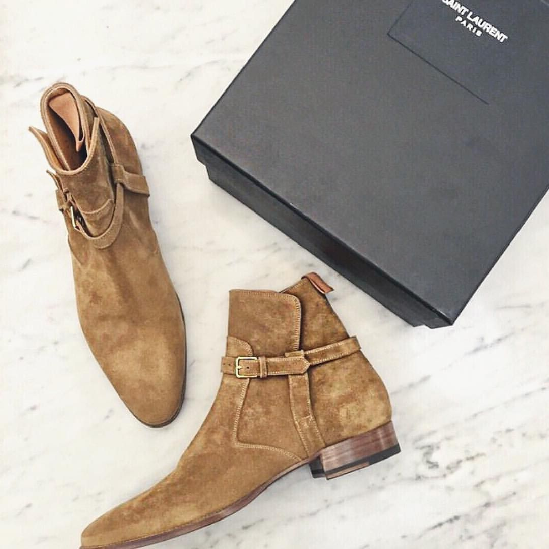 """by Danielle on Instagram: """"back at home my bae @joeyzigzag just got my MUST HAVE @ysl boots for all men - take note guys #heworewhat essential"""""""