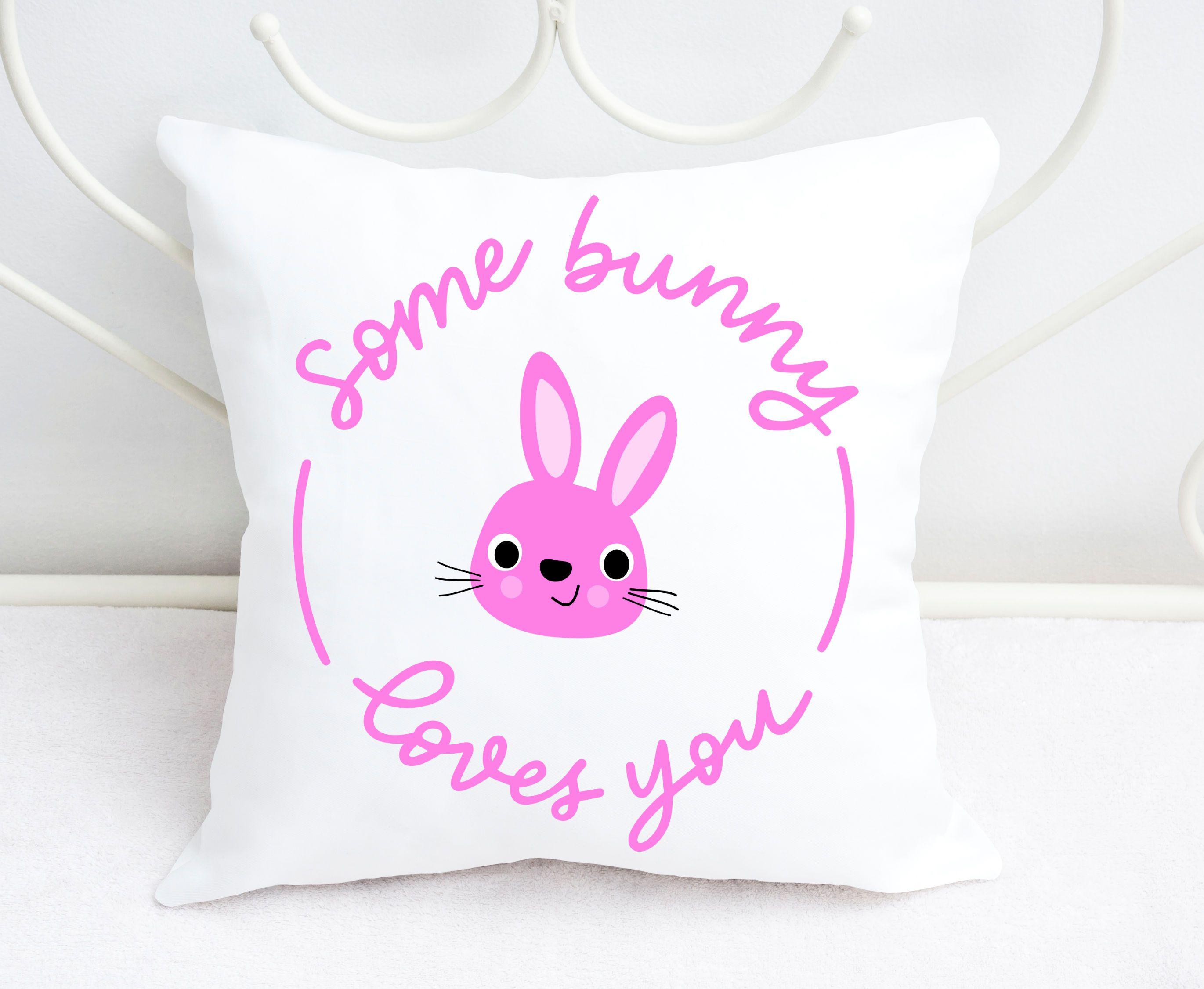 Download Easter SVG - Some bunny loves you, handlettered (186729 ...