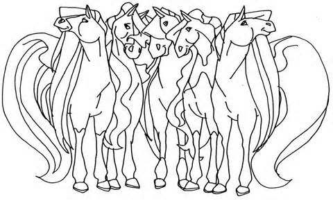Horseland Coloring Pages | ColoringMates. | Coloring Pages | Pinterest
