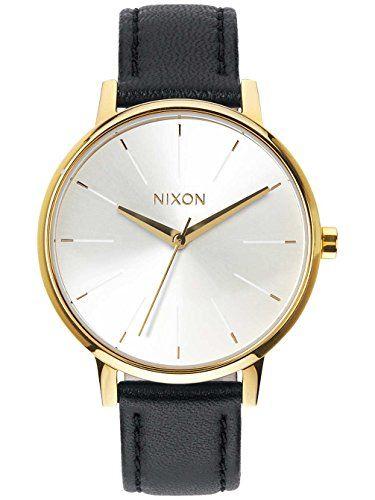 Nixon A108-1964 Ladies The Kensington Leather Gold White Black Watch NIXON http://www.amazon.com/dp/B00NYL4SPK/ref=cm_sw_r_pi_dp_0lZjvb0H8XJXF