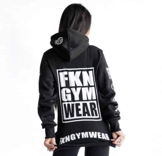 73b2be0c Women's Gym Hoodie – Black in 2019 | Time to Layer Up! | Hoodies ...