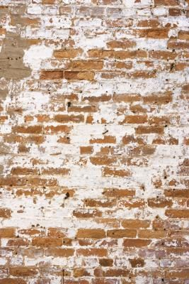 How To Paint A Brick Fireplace With Weathered Look