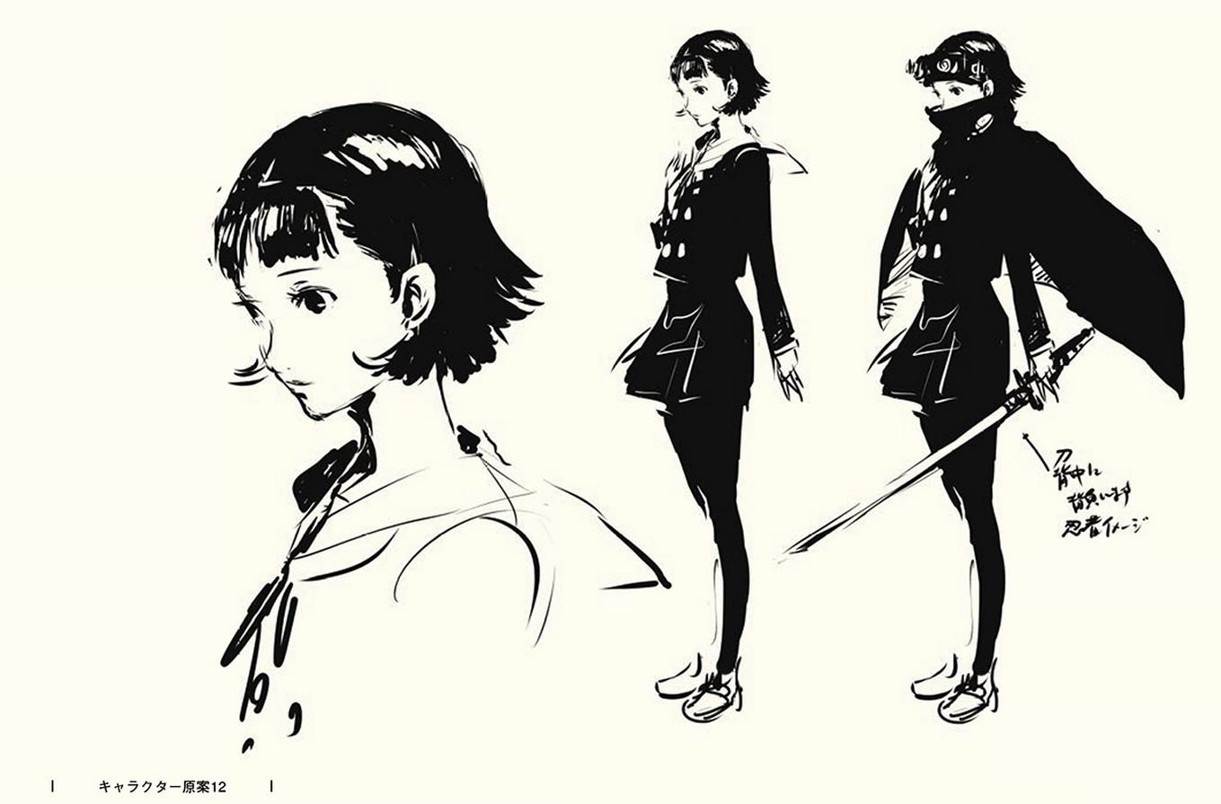 The Art Of Persona 5 | Persona 5, Persona, Concept art ...