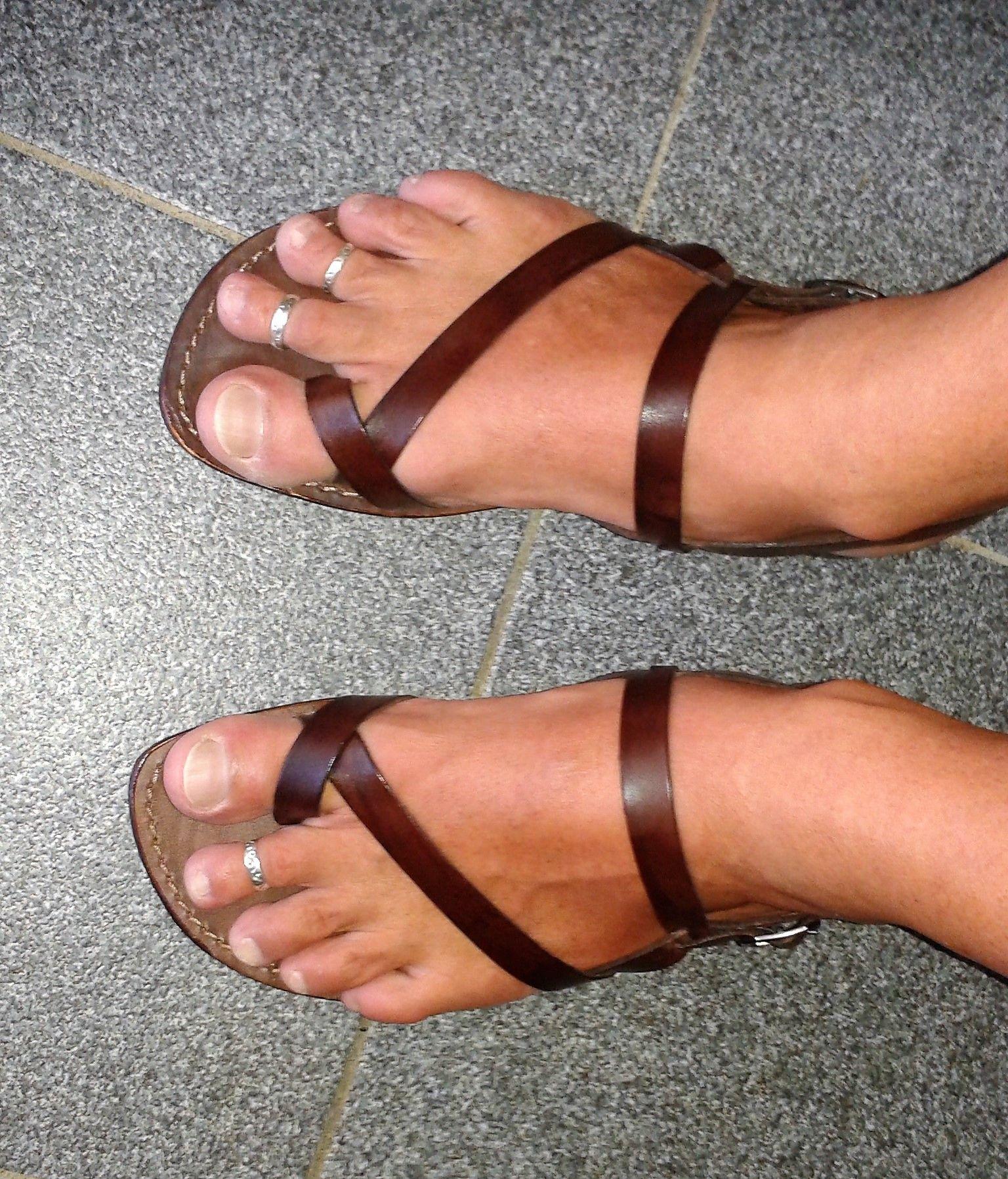 Sandalo chiuso dietro Wanted marrone da uomo | Barefoot
