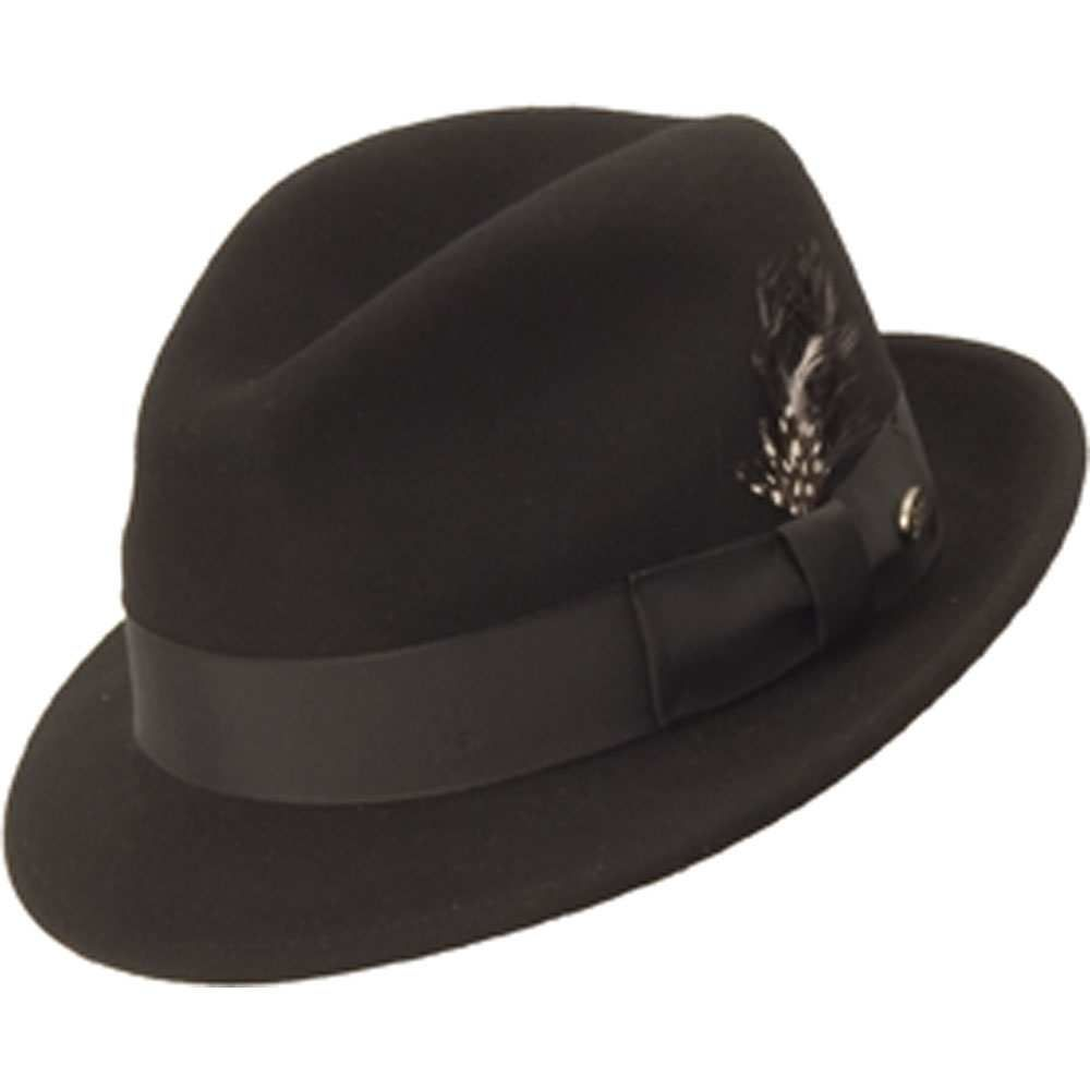 292f5609d9bf9 Bailey Tino Wool Felt Crushable Fedora Hat in 2019