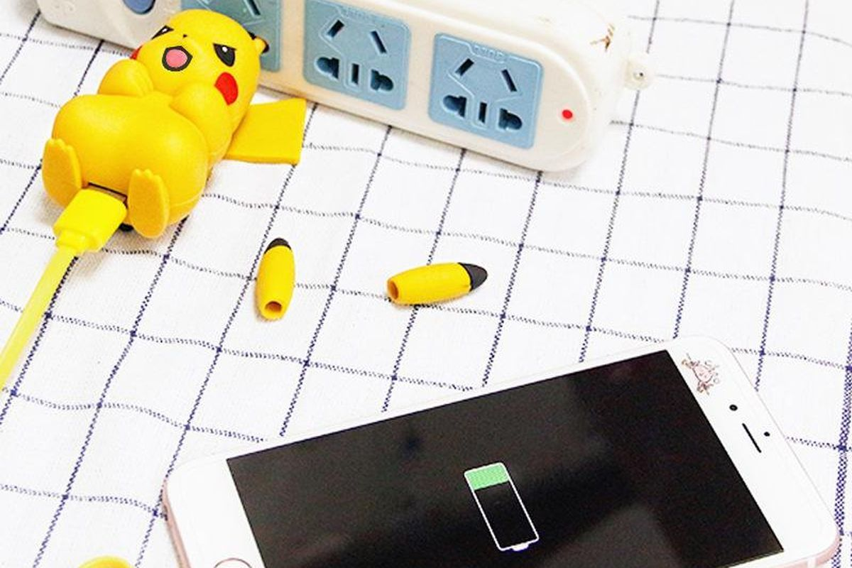 This Pikachu Plug Will Charge Your Devices But At What Cost Https Www Theverge Com 2017 6 6 15745562 Pikachu Plug Charger Geek Gifts Pokemon Minion Pattern
