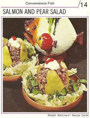 Salmon and pear salad weight watchers recipe cards 1974 salmon and pear salad weight watchers recipe cards 1974 forumfinder Gallery
