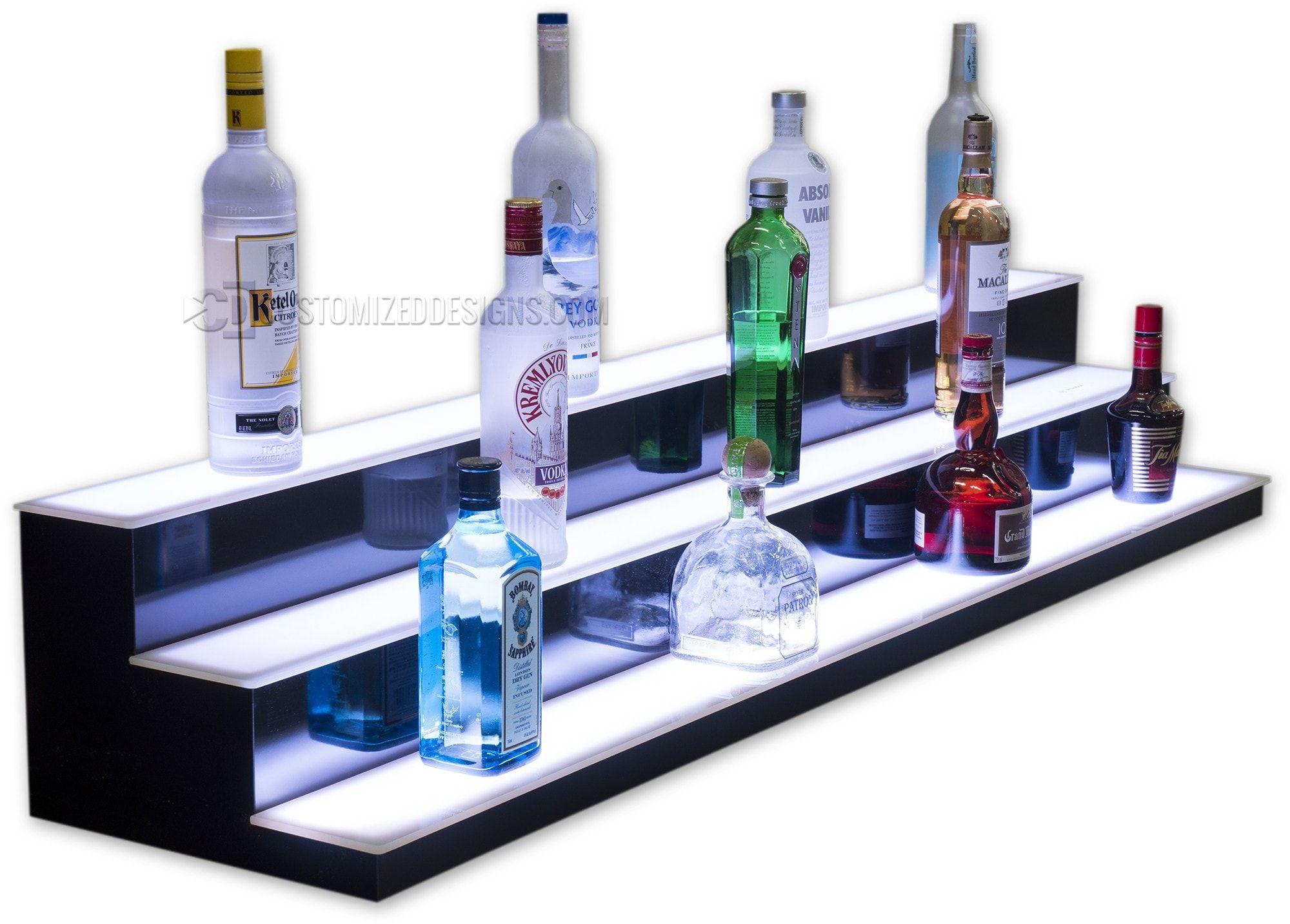 Low Profile Liquor Shelves In 2020 Liquor Bottle Lights