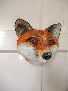 Paper Mache Fox Head Yahoo Image Search Results