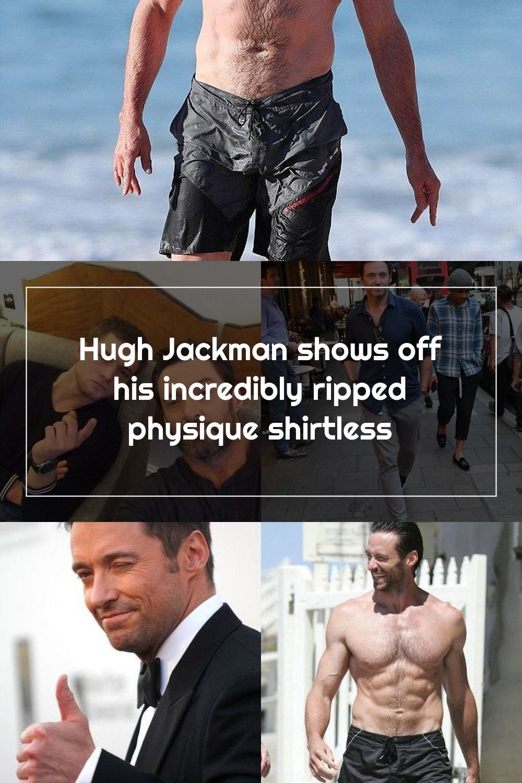Wow Wolverine Australian Hollywood Hunk Hugh Jackman 47 Showed Off His In 2020 Hugh Jackman Jackman Hollywood