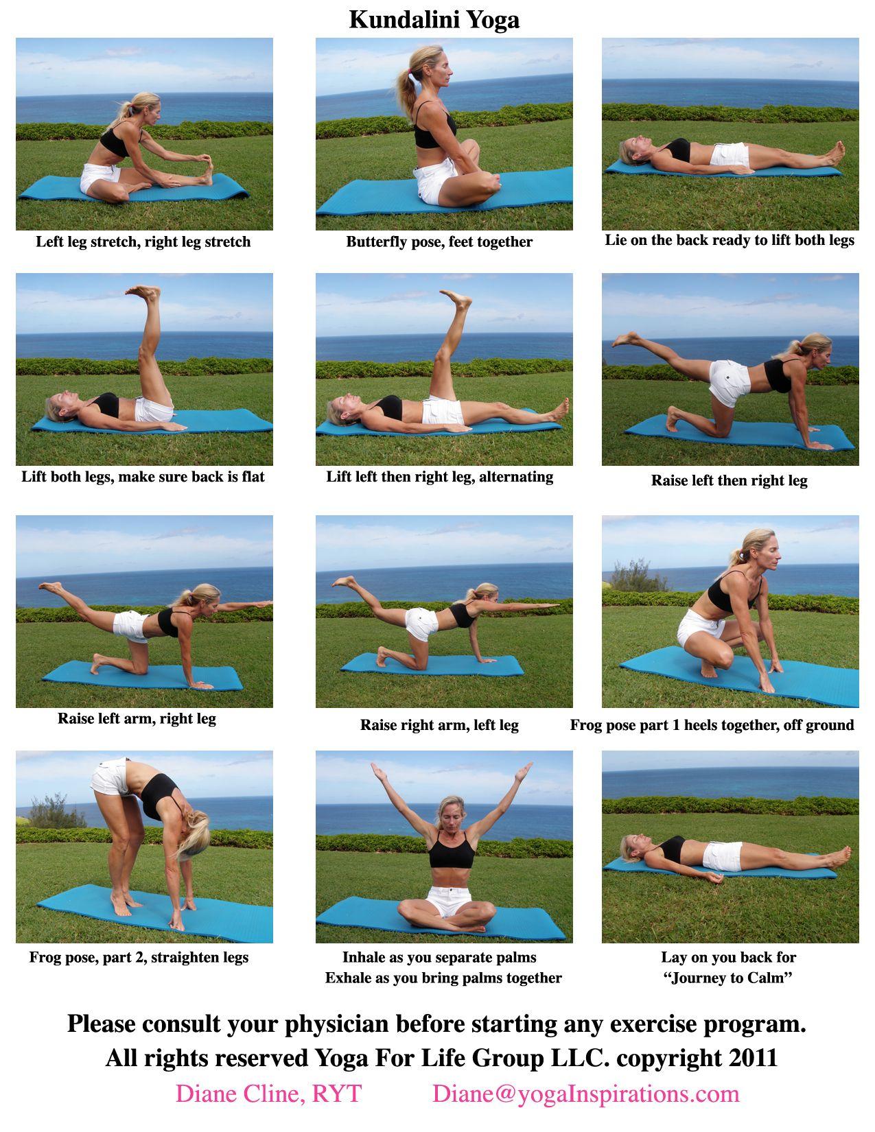 Yoga Moves Names