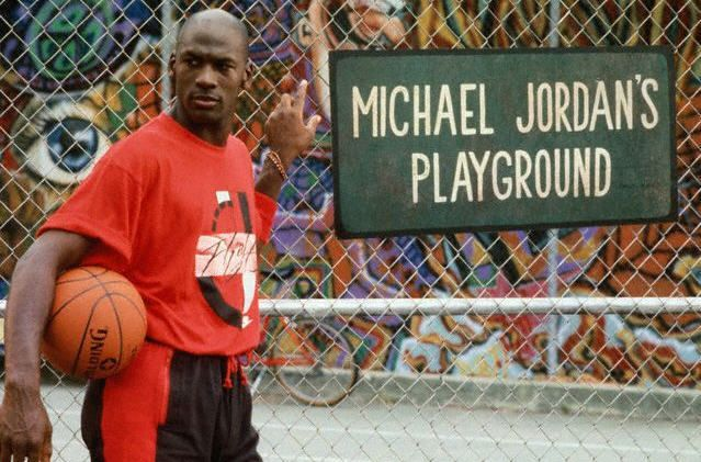 Image result for michael jordan playground