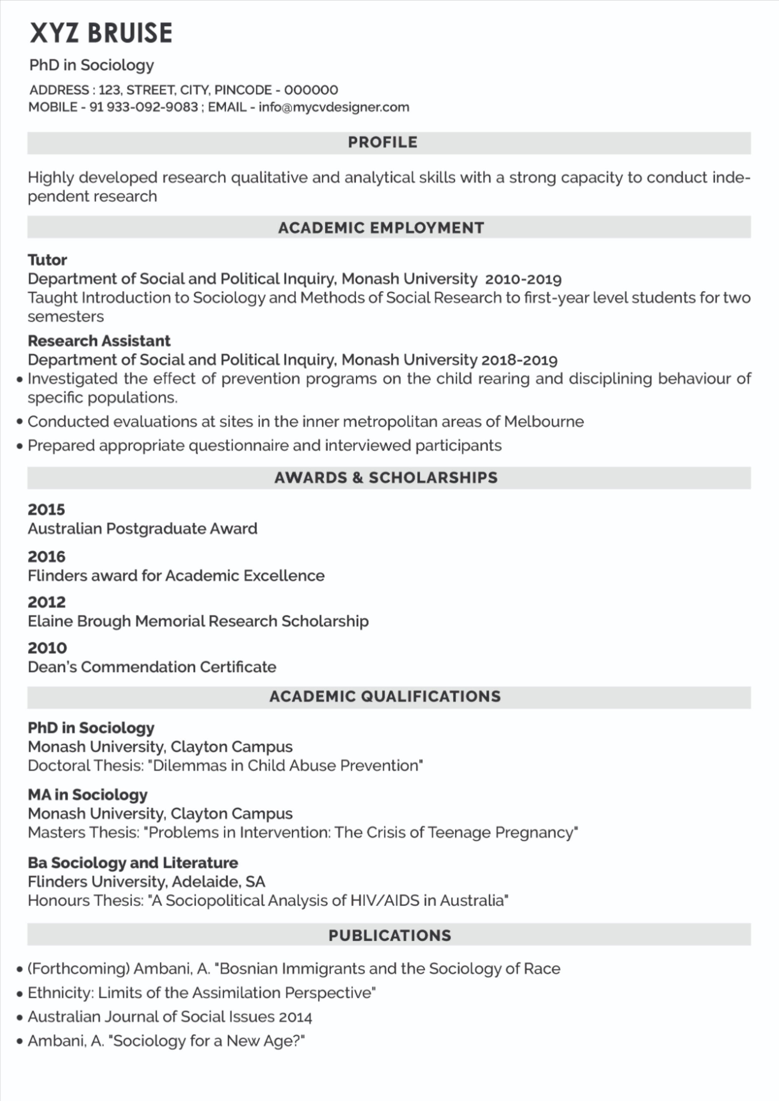 Text CV/Resume Resume, Hiring process, Texts