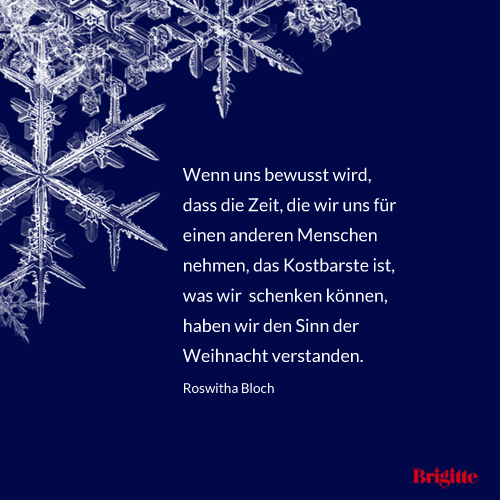Besinnliche und schöne Zitate zu Weihnachten