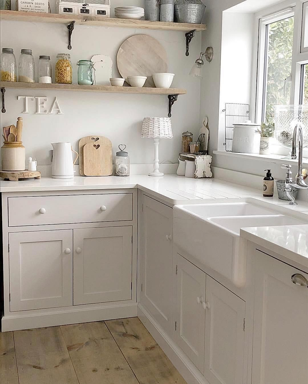 49 clever small kitchen storage ideas for a more efficient space cocinas pequeñas de campo on kitchen organization for small spaces id=97602