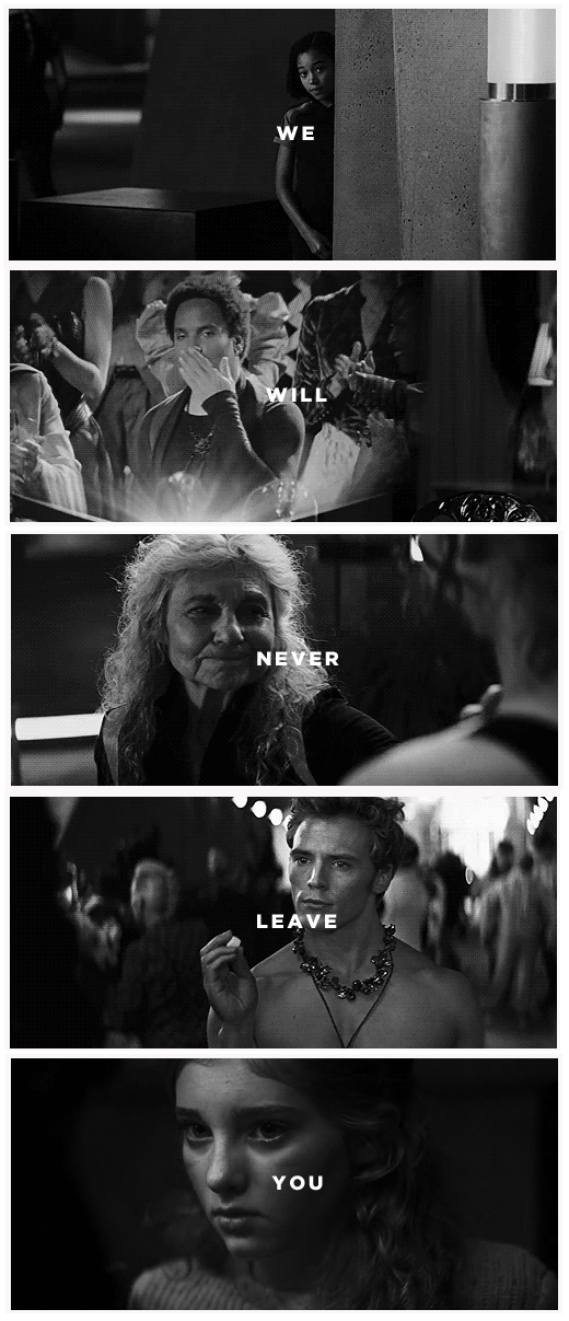We will never leave you... [click for gif on tumblr post]