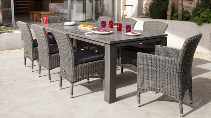 Table Latino 240 Ice - Table - Océo Le jardin inspiré | Mobilier de ...