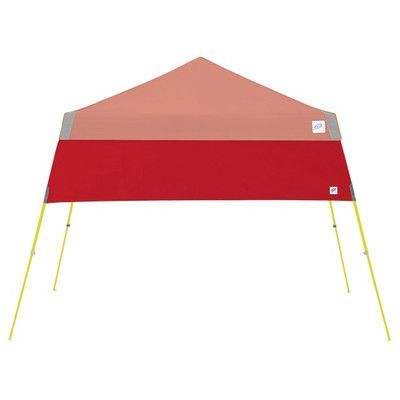 E-Z UP Recreational Half Wall with Angle Leg Color: Punch
