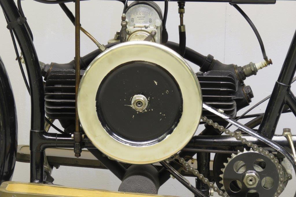 Douglas 1914 2 Hp 350cc 2 Cyl Sv 2712 Yesterdays Twin Models Douglas Vintage Bikes