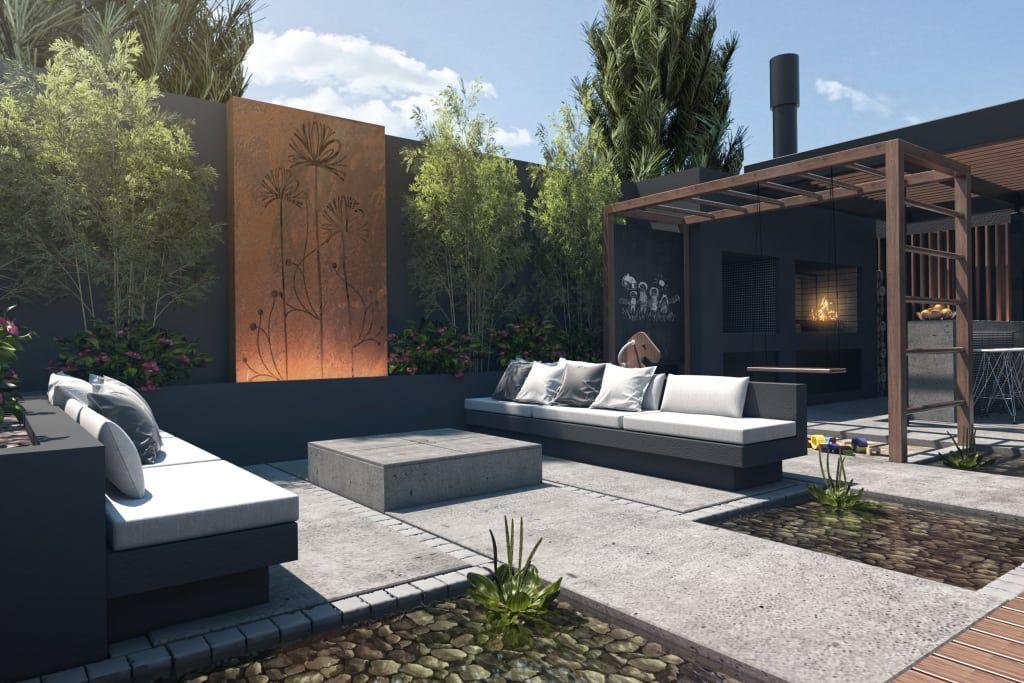 Espacio Lounge Balcones Y Terrazas Modernos Ideas Imagenes Y Decoracion De Tdc Oficina De Arquitectura Moderno Diseno De Terraza Oficina De Arquitectura Arquitectura