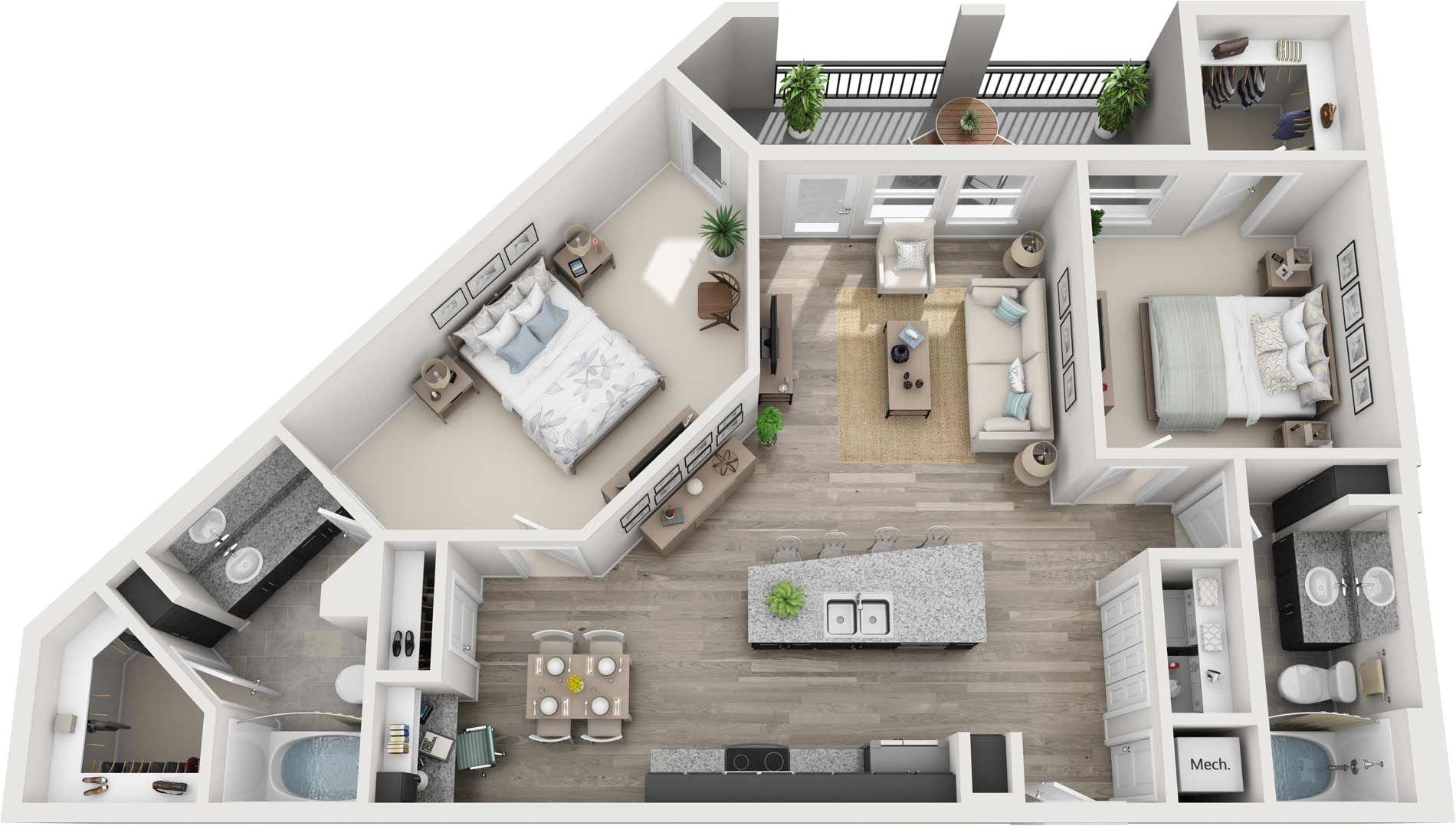One Bedroom Apartments East Nashville Nashville