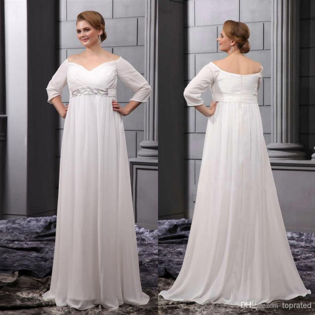 fall wedding dresses plus size - wedding dresses for the mature ...