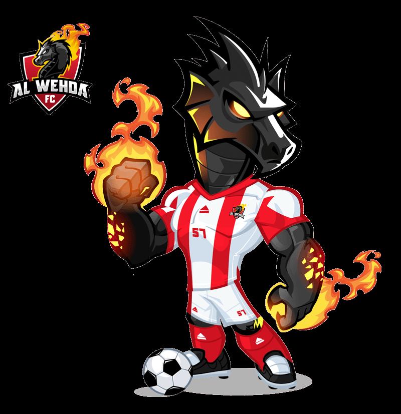 KSA Football Mascot
