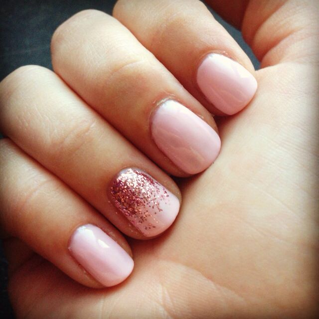 Pretty In Pink Accent Nail Ideas