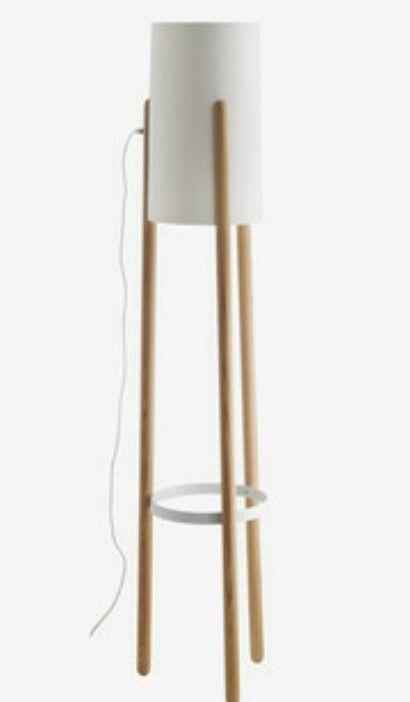 Habitat Jones Wooden Floor Lamp 95 Wooden Floor Lamps Wooden Flooring Lamp