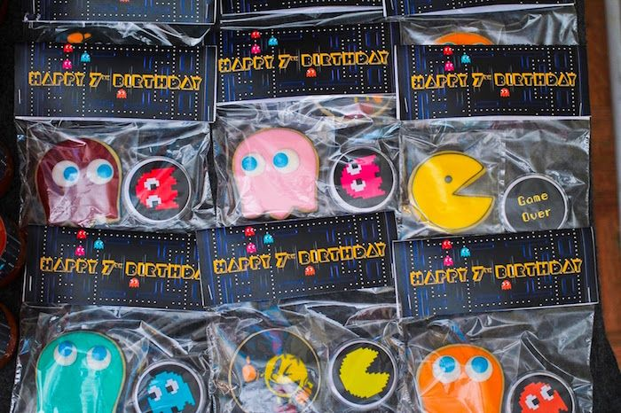 Favors From A Pac Man Themed Birthday Party Via Karas Ideas