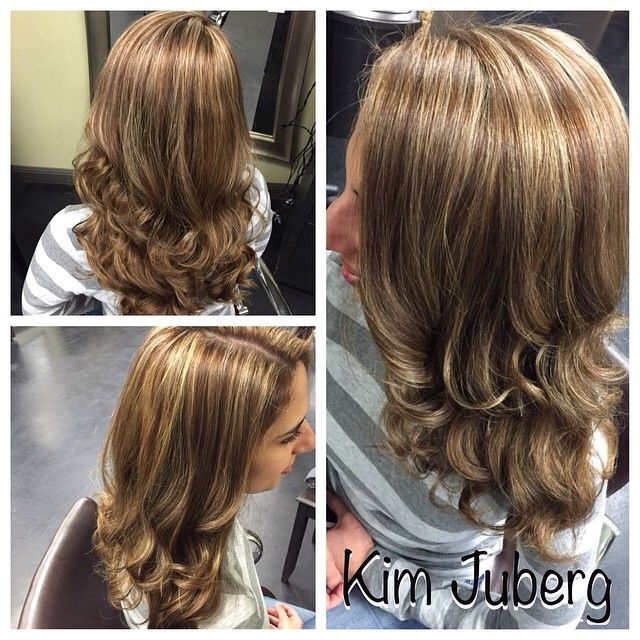 Highlights Created By Kim Juberg I Love These Layers Too Essenza Salon Vacaville Ca Long Hair Styles Hair Styles Hair