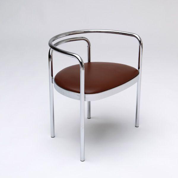 Poul Kjaerholm PK 12 Chair In Steel Tubing #chairs #furniture