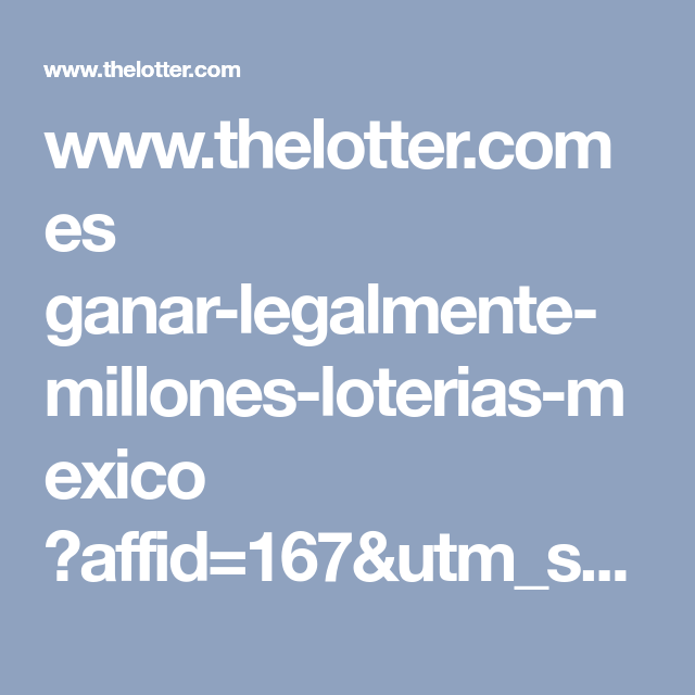 Www.Thelotter.Com