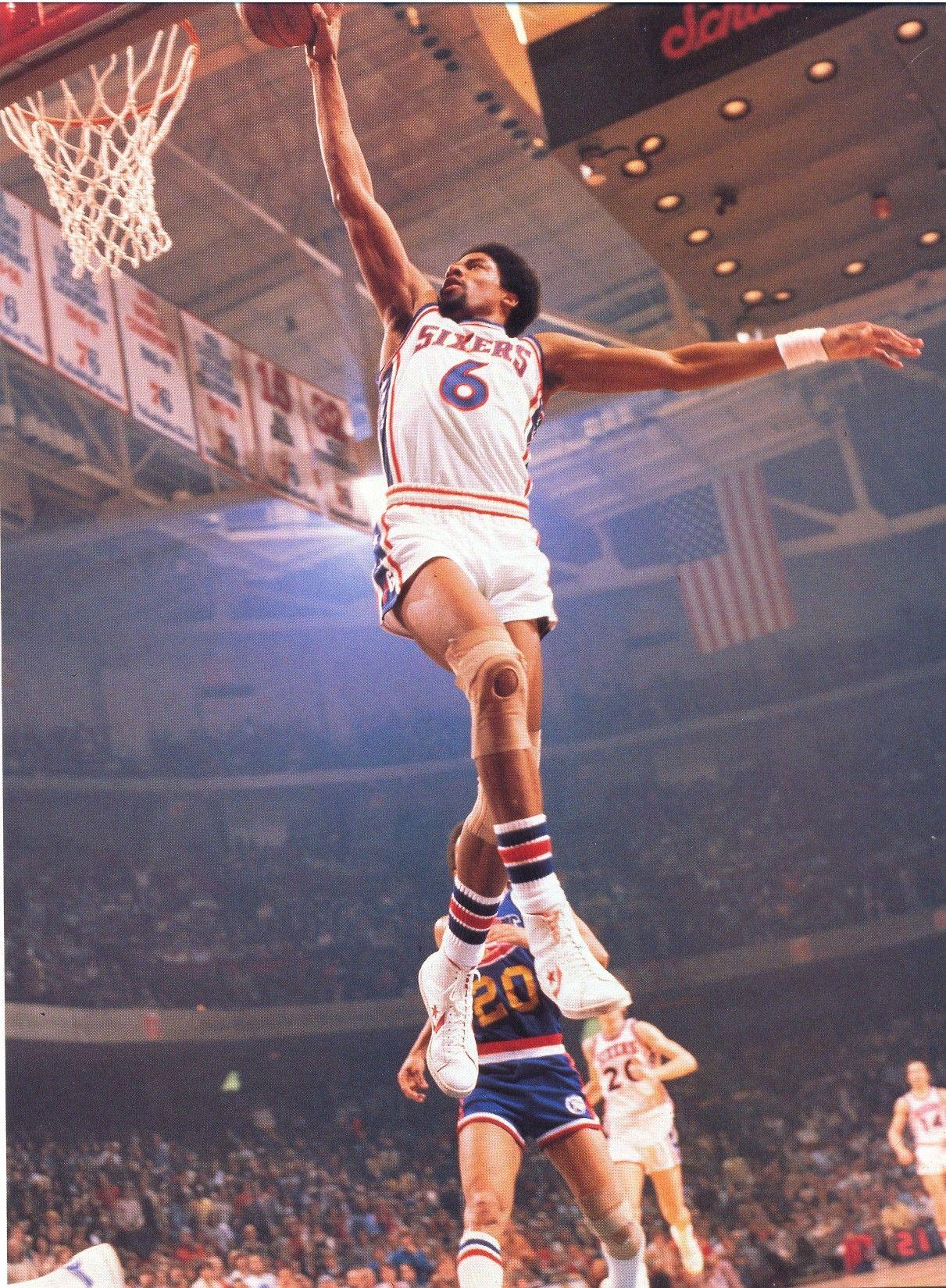 Julius Erving Philadelphia 76ers 1977 Sport