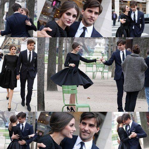 Olivia Palermo. Engagement Picturesque.